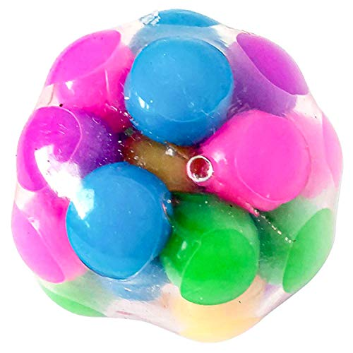 FITWICK DNA Stress Ball Fidget Toys, Squishy Stress Ball for Kids Adults, Sensory Fidget Toy, Hand Exercise Tool, Birthday Idea for Friend, Colleague, Coworker, Kids 2.36 x 2.36 inches