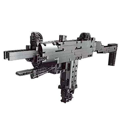 VIPO Technik Bausteine Schießwaffe Modell, 796 Teile Waffe-Pistole Bauset Kompatibel mit Führende Marken