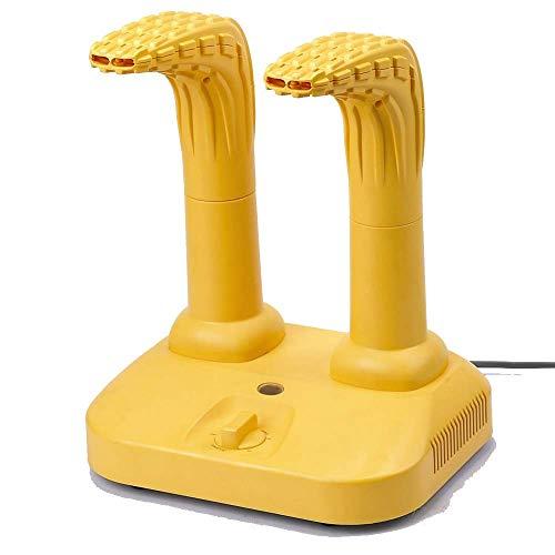 NXYJD Secador de Calzado eléctrico, esterilizador, secador de Botas, secador de Zapatos y secador de Guantes con Temporizador y Ventilador