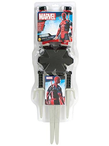 Rubie's Mens Deadpool Weapons Kit Costume Accessory Black