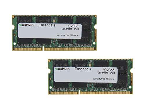 Mushkin SO-DIMM 16GB DDR3-1600 Kit Arbeitsspeicher, 997038, Essentials