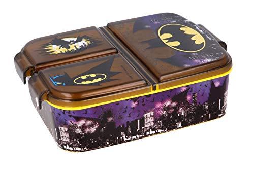 Boîte à sandwich pour enfant - Motif : La Reine des Neiges - Mickey - Pat' en plastique sans BPA - Cadeau idéal pour les enfants (Batman)