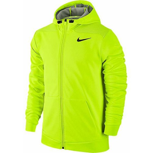 Nike Pro Combat Dri-FIT Niños Función Camiseta Neon Boys garcons manga larga