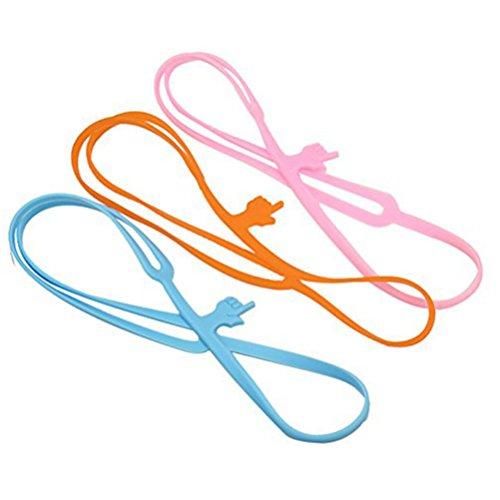 WINOMO 3pcs Segnalibro puntatore bookmark (Arancio + Blu + rosa)