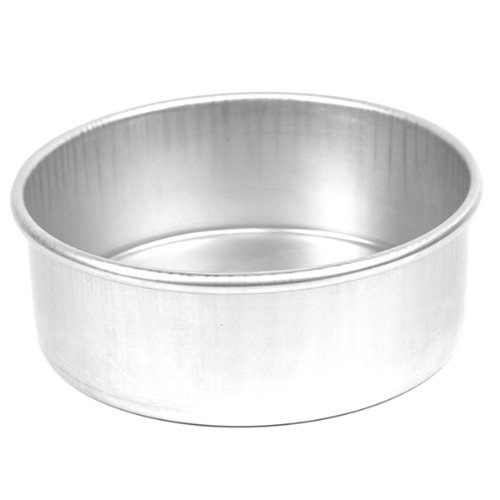 Parrish's Magic Line Round Cake Pan, 4 x 3 Inches Deep
