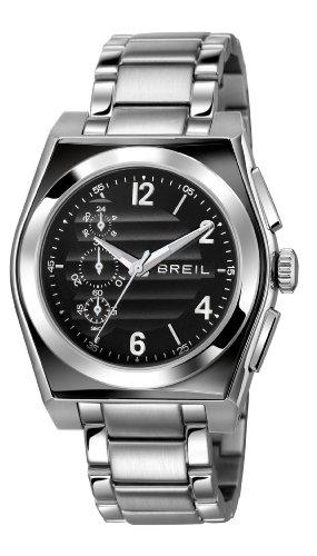 Breil TW0926 - Reloj cronógrafo de Cuarzo para Hombre con Correa de Acero Inoxidable, Color Plateado