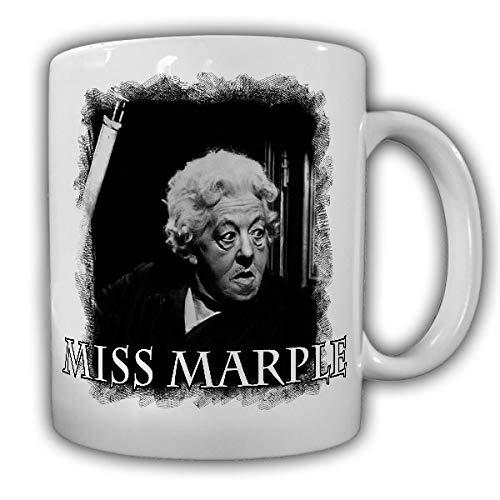 Miss Marple Krimi Roman alte Dame Kult Serie 50er 60er Film Tasse Becher #19862