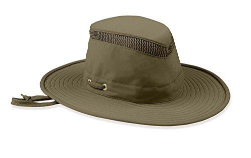 Tilley - Sombrero para hombre y mujer LTM6 de ala ancha, con ventilación extra para protección solar Airflo