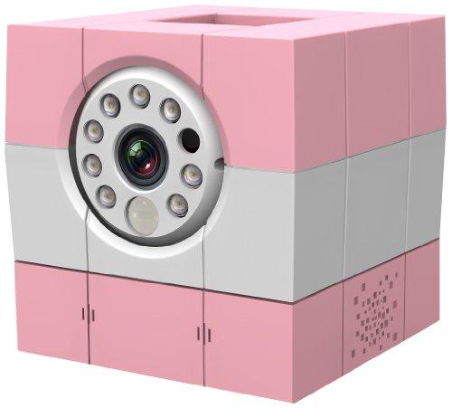 "Amaryllo iBabi HD Wi-Fi 5m Rosa, Color blanco - Vigilabebé (CMOS, 1280 x 720 Pixeles, 30 pps, 25,4/4 mm (1/4\""), 5 m, -140-140°)"