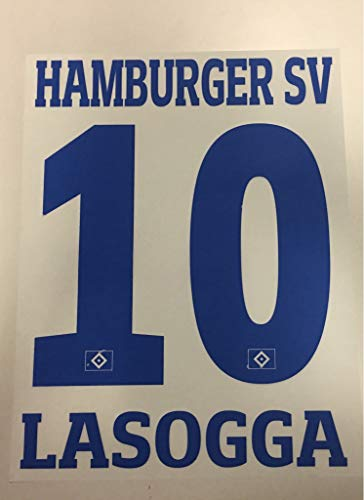 Flock Original Trikot Hamburger SV 26cm - LASOGGA 10