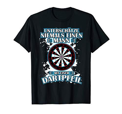 Herren Dart Shirts Trikots Outfits Kostüme für Dartspieler