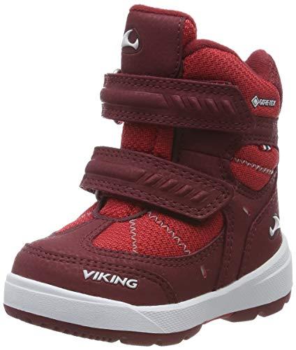 Viking Toasty II GTX, Botas de Nieve Unisex Niños, Rojo (Dark Red/Red 5210), 29 EU
