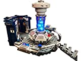 Brick Loot LED Lighting Kit for Your Doctor Who Lego Set 21304 (Lego Set NOT Included) - Handmade