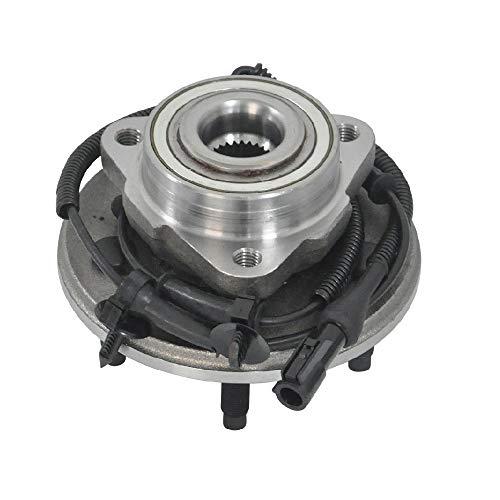 MAYASAF 515050 Front Wheel Hub Bearing Assemblies [5 Lugs w/ABS] Fit 2002-05 for...