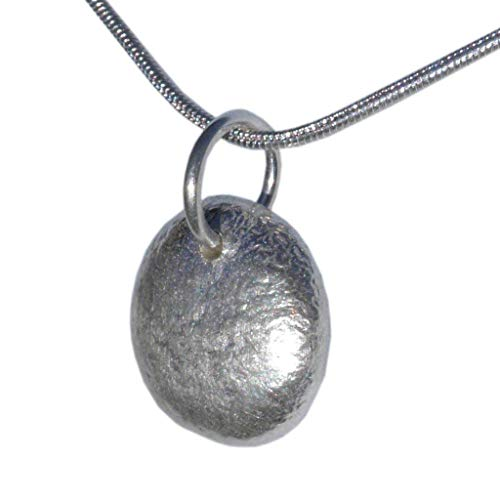 Handcrafted Chunky Silver Pendant Solid Recycled 925 Sterling Jewellery Gift Wrapped