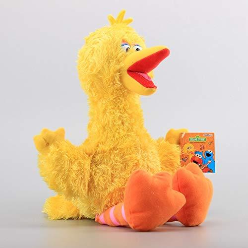 yskcsry Sesame Street Big Bird Zoe Ernie Peluches 35Cm Peluches Elmo Cookie Grover Niños Muñecos Suaves