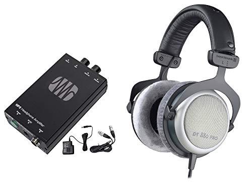 Beyerdynamic DT-880-PRO-250 Studio Monitoring Headphones+Presonus Headphone Amp