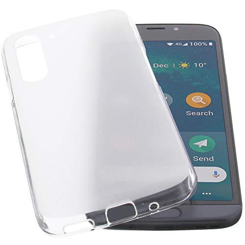 foto-kontor Funda para Doro 8050 Protectora de Goma TPU para móvil Transparente