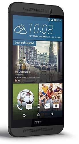 """HTC One M9 - Móvil libre de 5"""" (Qualcomm MSM8994 Snapdragon 810 Octa Core, Cortex-A53, 3 GB de RAM, Android OS, v5.0 Lollipop) color gris"""
