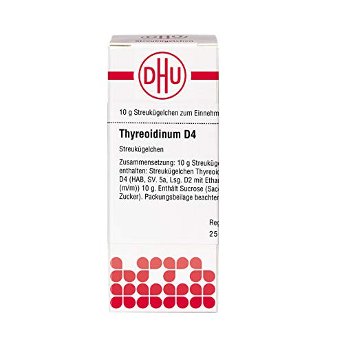 DHU Thyreoidinum D4 Streukügelchen, 10 g Globuli