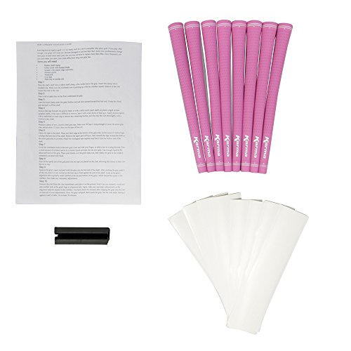 Pink Ladies Pro Velvet Karma Grips and Grip Kit Pack (8 grips, grip tape, clamp, instructions)