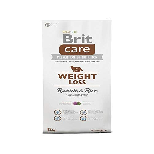 Brit Care Weight Loss Rabbit & Rice Comida para Perros - 1000 gr