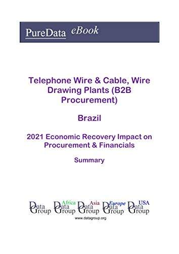 Telephone Wire & Cable, Wire Drawing Plants (B2B Procurement) Brazil Summary: 2021...
