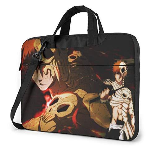 15.6 inch Laptop Shoulder Briefcase Messenger Bleach Kurosaki Ichigo Tablet Bussiness Carrying Handbag Case Sleeve