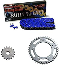 2006-2015 Driven Racing Gold RK 520MAXX Chain and EVO Sprocket Set for Honda CBR 1000RR