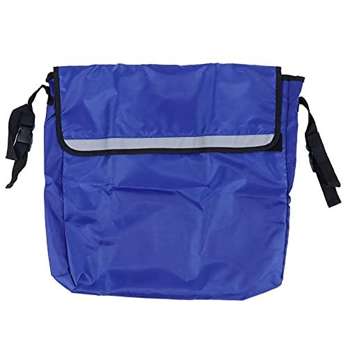 Suministros Para Sillas De Ruedas, Bolsa De Almacenamiento Para Sillas De Ruedas Fácil De Arreglar Para El Hogar Para La Familia(azul)