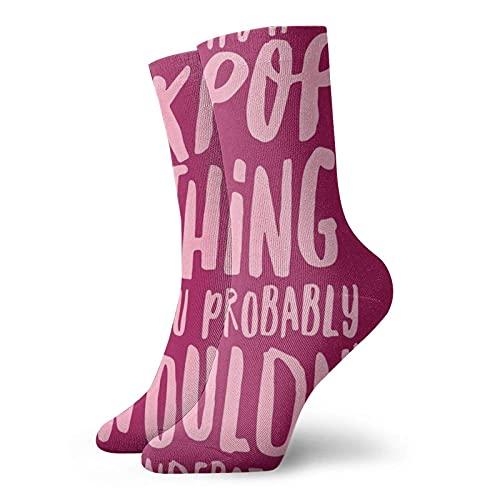 AOOEDM es una cosa de kpop que probablemente no entenderías Calcetines cortos unisex...