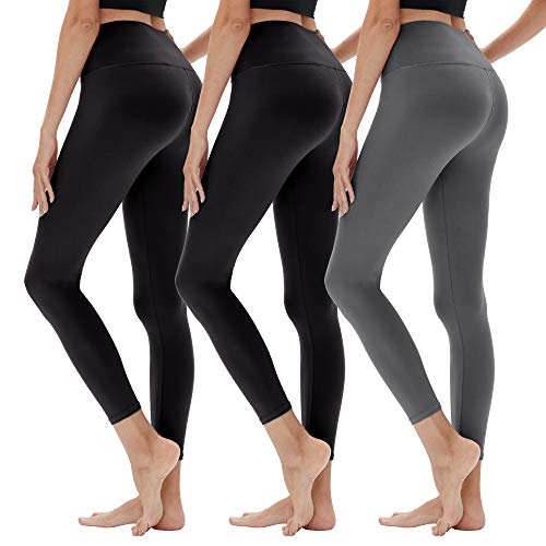 (50% OFF) Plus Size High Waisted Leggings 3-Pack $14.50 – Coupon Code