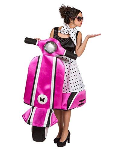 Disfraz vespa años 60 mujer - Premium Talla única