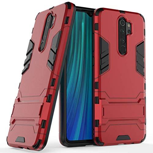 NH Funda Xiaomi Redmi 5A Shockproof Carcasa 360 Grados Protective + [Protector Pantalla 2 Piezas] Hard PC y Silicona TPU Kickstand Tough Armor Case para Xiaomi Redmi 5A -Rojo