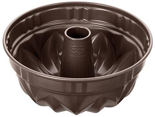 Dr. Oetker Special Edition Gugelhupf Ø 25 cm, runde Backform der Serie Back-Edition aus Stahl, Bundform mit Antihaftbeschichtung (Farbe: braun), Menge: 1 Stück