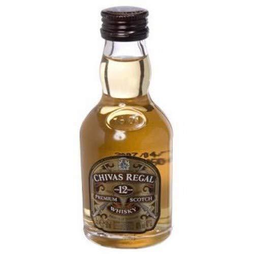 Botellita Miniatura Chivas Regal Scotch Whisky
