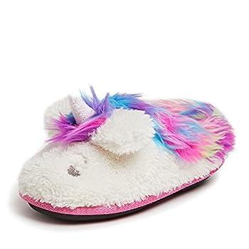 Dearfoams Girl s Whimsical Clog Slipper Paradise Pink 13-1 Big Kid