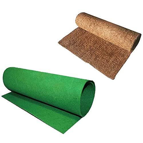 cherrypop Juego de ropa de cama de alfombra de reptiles para forro de terrario, suministros de reptiles, lagarto, serpiente, barba, dragón, gecko, camaleón, tortuga