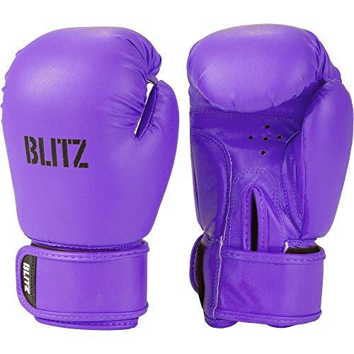 Blitz Unisex, Jugendliche Kids Omega Boxhandschuhe, violett, Einheitsgröße