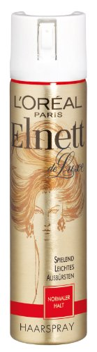 L'Oréal Paris Elnett de Luxe - Haarspray normaler Halt 3er Pack (3 x 75 ml)