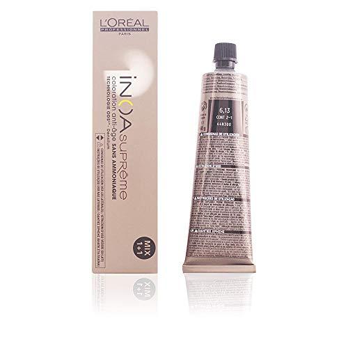 L'Oréal Inoa Suprême - Anti-Age Coloration Ohne Ammoniak 6,13 Zartes Ebenholz, 1er Pack (1 x 60 ml)