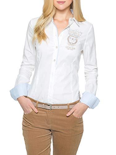 SOCCX Damen Bluse aus Baumwolle mit Artworks
