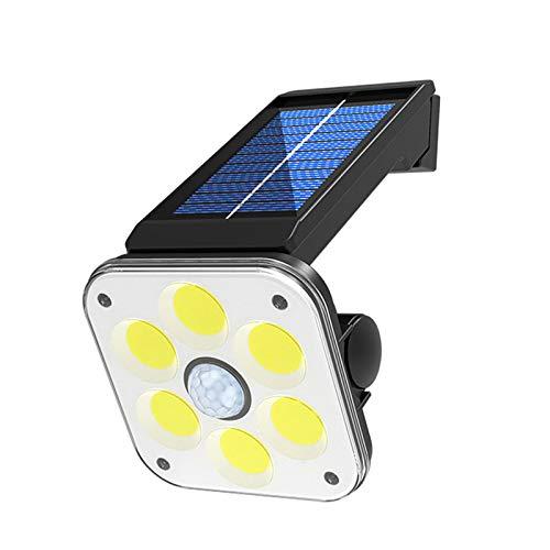 SDDS 54 COB-LEDs Bewegungssensor Licht, Solarleuchten Im Freien 3 Modi Kabellos Sicherheitswandbeleuchtung 270 ° Weitwinkel IP65 Wasserdicht, Für Vordertür Hof Garage Garden Deck Veranda,54cob