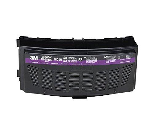 3M Versaflo Organic Vapor/HEPA Cartridge TR-6510N/37361(AAD), for TR-600/800 PAPR, 5 EA/Case,Magenta/Black