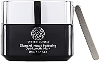 Forever Flawless Perfection Der-Magnetic Mask w/Natural Diamond Powder & Active Charcoal for Anti-aging, Detoxifying, and Hydrating Beauty Product FF102, (1.7 oz)