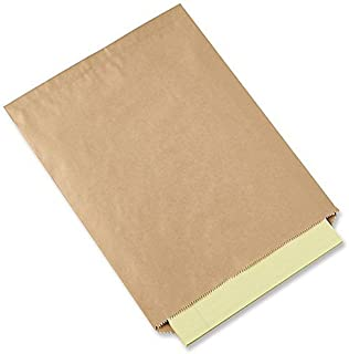 Natural Kraft Merchandise Bags, 5x7-1/2, No Gusset by WCI (200) A1 Bakery Supplies