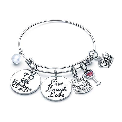 70 & Fabulous Charm Bracelet for Women