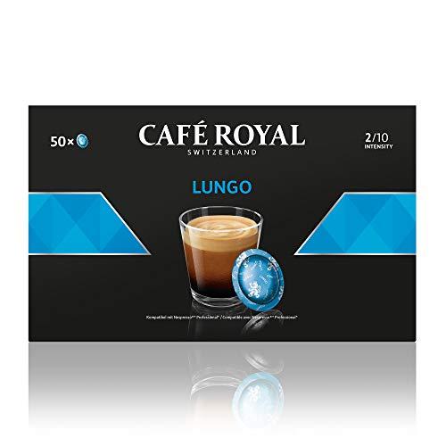 Café en dosettes compatibles Nespresso Pro saveur Lungo 5 x 50 Café Royal Pro
