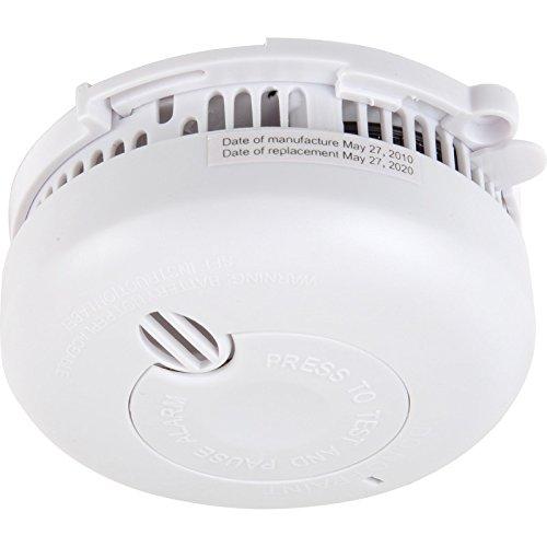 Larga vida alarma de humo detector de humo óptico