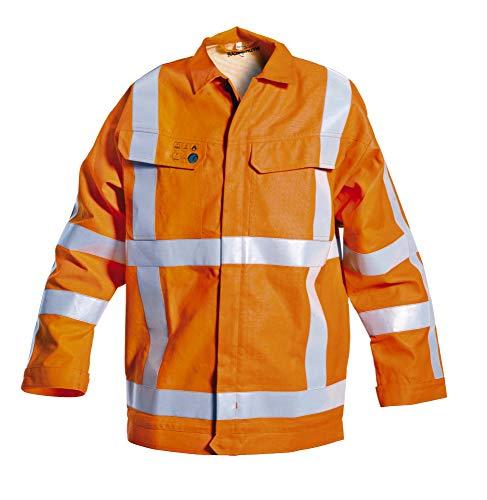 Hydrowear 043423 Molen Multi Norm FR AST RWS Jack, 49% Katoen/50% Polyester/1% Antistatisch, Grote Maat, Oranje